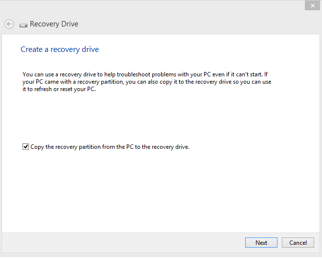 How to Make a Recovery Drive for Your PC Using a USB - Windows 8